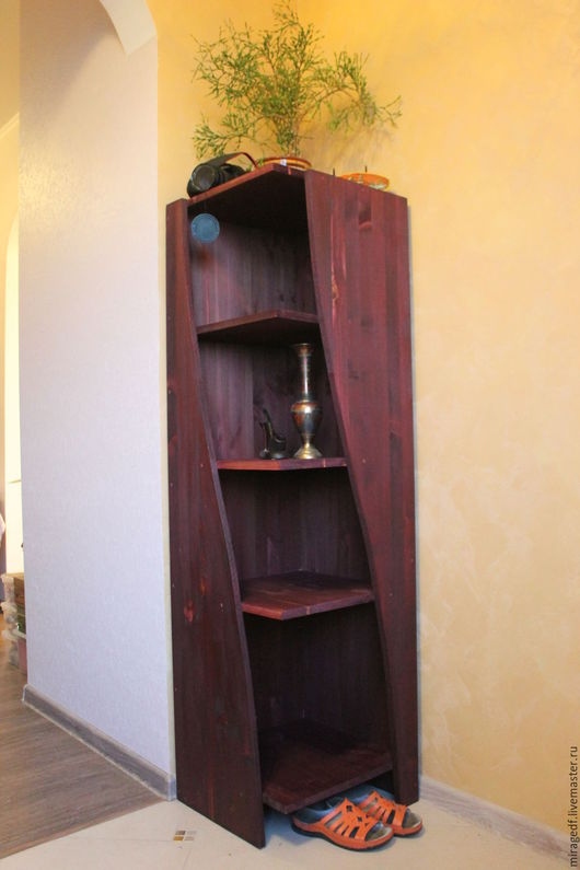 Мебель ручной работы. Ярмарка Мастеров - ручная работа. Купить Змеиная Стойка. Handmade. Полка для кухни, для интерьера, мебель из дерева