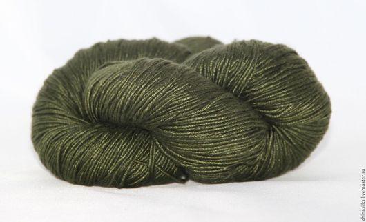 Вязание ручной работы. Ярмарка Мастеров - ручная работа. Купить Шелковые нитки для вязания (Lyba Silk) Индия. Handmade. Шелк