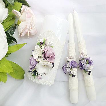 Свадебный салон ручной работы. Ярмарка Мастеров - ручная работа Семейный очаг в сиреневом цвете. Handmade.