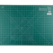 Материалы для творчества ручной работы. Ярмарка Мастеров - ручная работа Коврик OLFA 60х43см раскройный, зеленый. Handmade.
