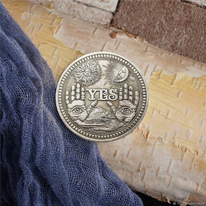 Оракул: Монета решение, приниматель решений,монета гадалка – купить на Ярмарке Мастеров – OLGMKRU   Оракул, Новочеркасск