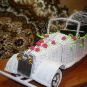 Свадебный салон ручной работы. Ярмарка Мастеров - ручная работа свадебный ретро автомобиль. Handmade.