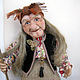 Doll Baba Yaga 5. Dolls. With smile. My Livemaster. Фото №5