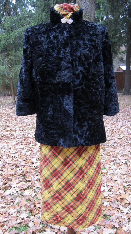 Верхняя одежда ручной работы. Ярмарка Мастеров - ручная работа. Купить 42-62! Шубка ИЗЯЩНАЯ мутоновая рукав 3/4 или длинный. Handmade.