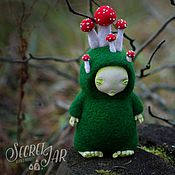 Куклы и игрушки handmade. Livemaster - original item Toy of wool