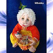 """Комплекты аксессуаров для дома ручной работы. Ярмарка Мастеров - ручная работа Комплекты аксессуаров для дома: Кукла конфетница """"Угощайся!"""". Handmade."""