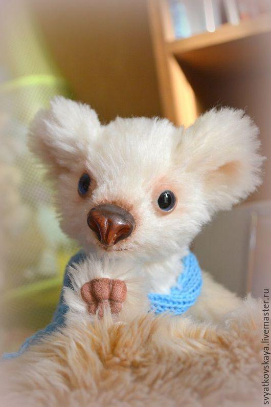 Мишки Тедди ручной работы. Ярмарка Мастеров - ручная работа. Купить Медвежонок Мио. Handmade. Белый, медвежонок, мохер Германия