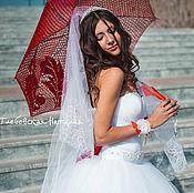 Umbrellas handmade. Livemaster - original item Umbrellas for the wedding photo shoot.. Handmade.