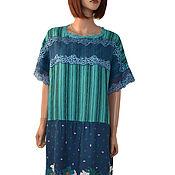 Одежда handmade. Livemaster - original item Elegant summer dress made of viscose staple
