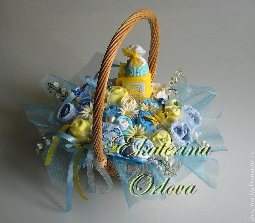 Букет для молодой мамы на крестины, цветов