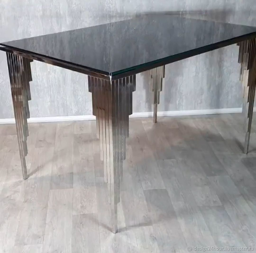 Dining table ' Black San Francisco', Tables, Moscow,  Фото №1