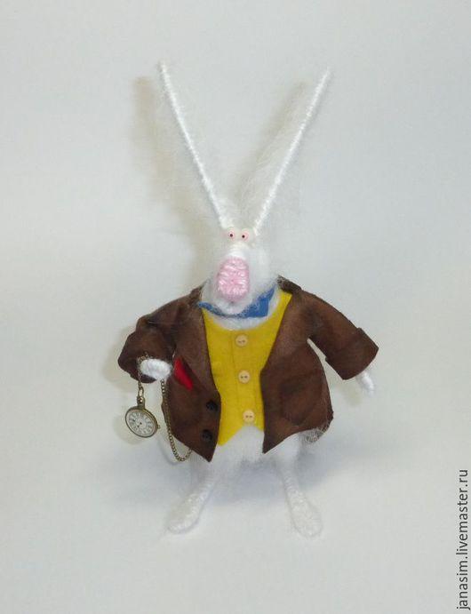 Игрушки животные, ручной работы. Ярмарка Мастеров - ручная работа. Купить Белый Кролик. Вариант второй.. Handmade. Белый, пушистик