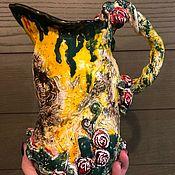 Кувшины ручной работы. Ярмарка Мастеров - ручная работа Керамический кувшин. Handmade.
