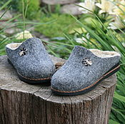 Обувь ручной работы. Ярмарка Мастеров - ручная работа Тапки. Handmade.