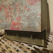 Для дома и интерьера ручной работы. Ярмарка Мастеров - ручная работа Вешалка Пионы. Handmade.