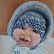 Картины и панно ручной работы. Ярмарка Мастеров - ручная работа Портрет мылыша. Handmade.