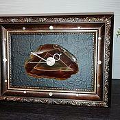Часы классические ручной работы. Ярмарка Мастеров - ручная работа Часы украшение для дома. Handmade.