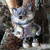 Куклы и игрушки ручной работы. Ярмарка Мастеров - ручная работа Добрый серенький волчок. Handmade.