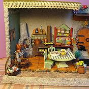 Куклы и игрушки ручной работы. Ярмарка Мастеров - ручная работа Летняя кухня. Румбокс. Handmade.