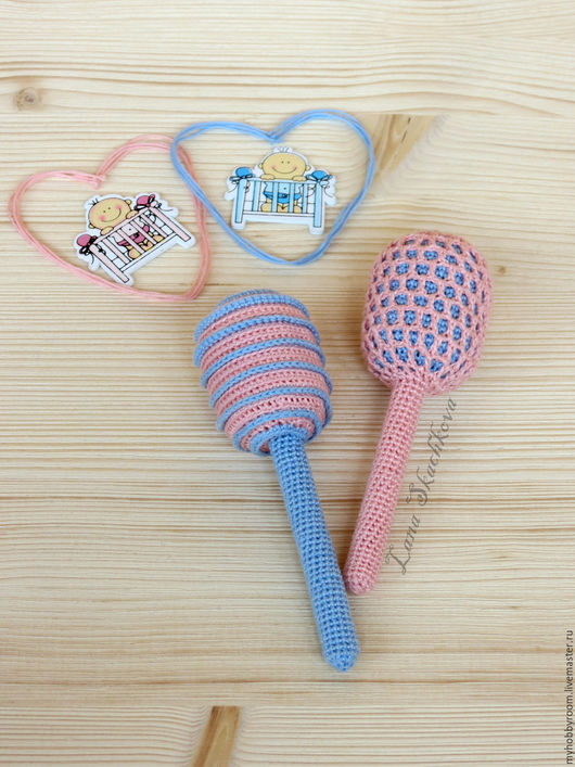 Вязаные погремушки. Развивающие игрушки ручной работы. Погремушки. Подарок для новорожденного. Лана Скачкова. Ярмарка Мастеров.