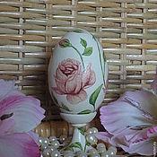 Сувениры и подарки ручной работы. Ярмарка Мастеров - ручная работа Яйцо пасхальное с розами, декупаж. Handmade.