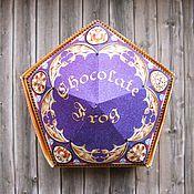 """Сувениры и подарки ручной работы. Ярмарка Мастеров - ручная работа """"Шоколадная лягушка"""" из Гарри Поттера. Handmade."""