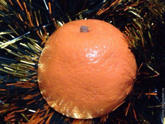 Мыло ручной работы. Ярмарка Мастеров - ручная работа. Купить Апельсин (половинка). Handmade. Оранжевый, апельсин, мыло ручной работы