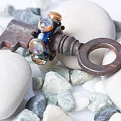 """Украшения ручной работы. Ярмарка Мастеров - ручная работа Lampwork кулон """"Ключ от другого мира"""". Handmade."""
