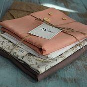 handmade. Livemaster - original item Fabric linen cotton cuts for sewing toys dolls interior items. Handmade.