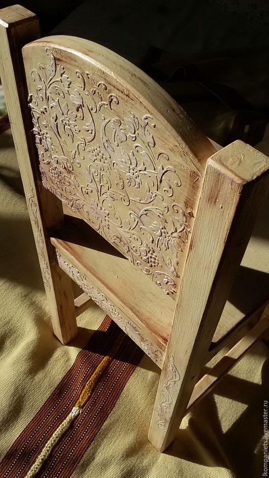"""Мебель ручной работы. Ярмарка Мастеров - ручная работа. Купить Детский стульчик """"Винтажный"""". Handmade. Бежевый, прованс, подарок дочке"""