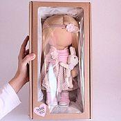 Материалы для творчества ручной работы. Ярмарка Мастеров - ручная работа Коробочка для куклы. Handmade.