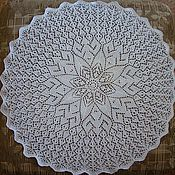 Для дома и интерьера ручной работы. Ярмарка Мастеров - ручная работа Ажурные салфетки. Handmade.
