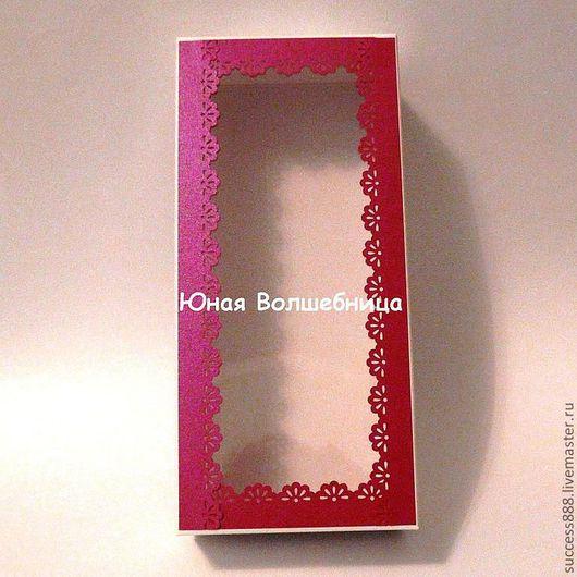 Оригинальная упаковка - коробочка с окошком, коробка для куклы, коробка для мыла, белая коробка