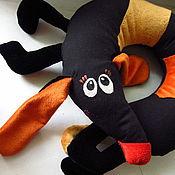 Куклы и игрушки ручной работы. Ярмарка Мастеров - ручная работа Такса подушка. Handmade.
