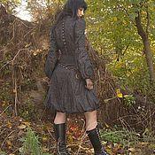Субкультуры ручной работы. Ярмарка Мастеров - ручная работа дизайнерское нарядное платье из жатой тафты с подиума. Handmade.