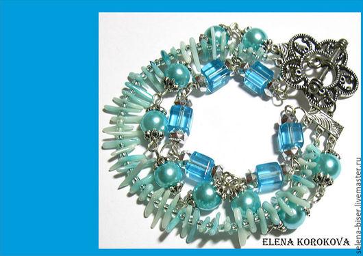многорядные браслеты  авторские браслеты  купить браслет  браслеты фото  браслеты цена  браслет женский браслет своими руками  многорядные браслеты  голубой браслет фото  акции    браслеты купить
