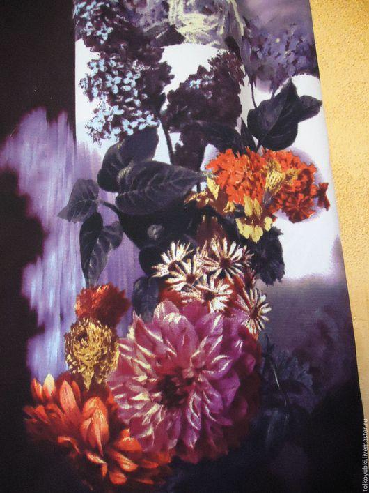 Юбки ручной работы. Ярмарка Мастеров - ручная работа. Купить Юбка в пол Вечерний Сад фиолетовые цветы. Handmade.