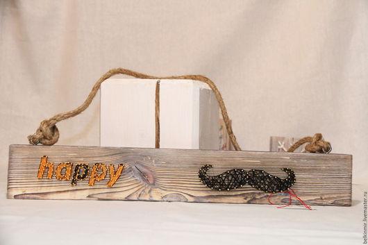 Прихожая ручной работы. Ярмарка Мастеров - ручная работа. Купить Усатая ключница. Handmade. Ключница ручной работы, ключница деревянная