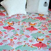 Текстиль ручной работы. Ярмарка Мастеров - ручная работа Покрывало на кровать. Handmade.