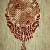 """Для дома и интерьера ручной работы. Ярмарка Мастеров - ручная работа Панно""""желуди"""". Handmade."""