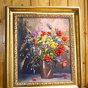 Картины ручной работы. Ярмарка Мастеров - ручная работа Очарование полевых цветов. Handmade.