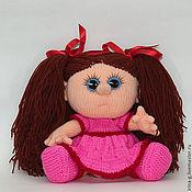 """Куклы и игрушки ручной работы. Ярмарка Мастеров - ручная работа Вязаная кукла """"Катюша"""". Handmade."""