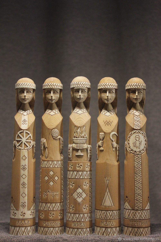 Lada, Makosh, Live, Mara, the Keeper ( 1000 RUB one idol ), Figurines in Russian style, Chelyabinsk,  Фото №1