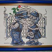"""Картины и панно ручной работы. Ярмарка Мастеров - ручная работа Картина """"Влюбленные"""". Handmade."""
