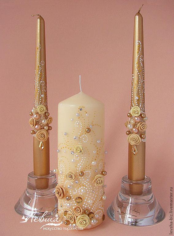 свечи золото купить