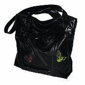 Сумки и аксессуары handmade. Livemaster - original item Bags: Bag package black leather-Sphinx cats. Handmade.