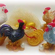 Подарки к праздникам ручной работы. Ярмарка Мастеров - ручная работа Петух с монетами. Handmade.