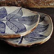 """Посуда ручной работы. Ярмарка Мастеров - ручная работа Пара тарелок """"Душа леса"""". Handmade."""