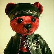 Куклы и игрушки handmade. Livemaster - original item bear Biker. Handmade.