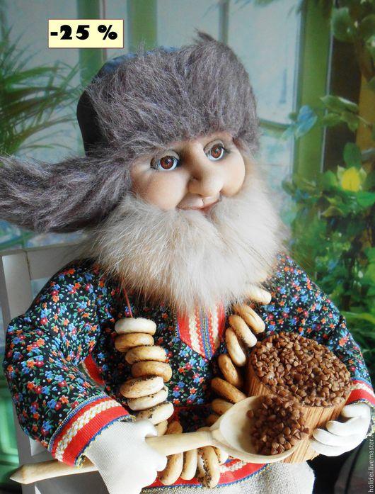 Коллекционные куклы ручной работы. Ярмарка Мастеров - ручная работа. Купить - 25 %   СТЕПАНЫЧ  текстильная кукла. Handmade. Комбинированный